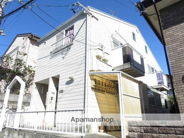 静岡県浜松市中区、浜松駅遠鉄バスバス10分中部電力下車後徒歩3分の築25年 2階建の賃貸アパート