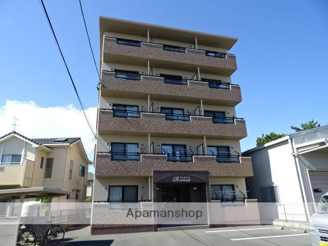 静岡県浜松市西区、浜松駅遠鉄バスバス35分柏原東下車後徒歩1分の築9年 5階建の賃貸マンション