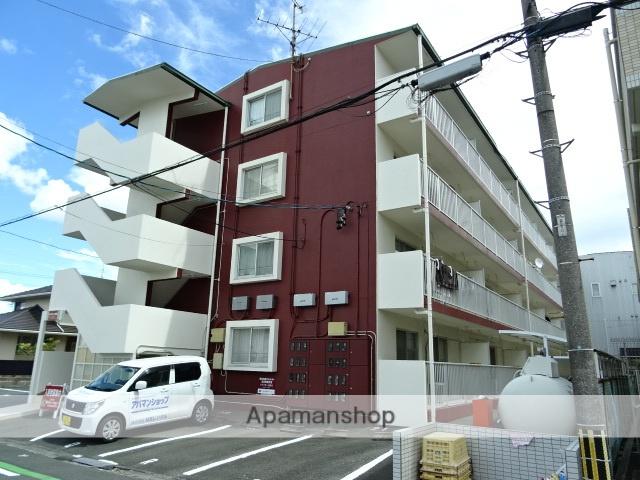静岡県浜松市中区、浜松駅遠鉄バスバス10分八幡宮下車後徒歩2分の築31年 4階建の賃貸マンション