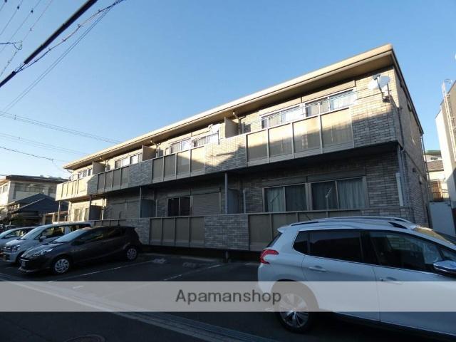 静岡県浜松市中区、浜松駅徒歩10分の築10年 2階建の賃貸アパート