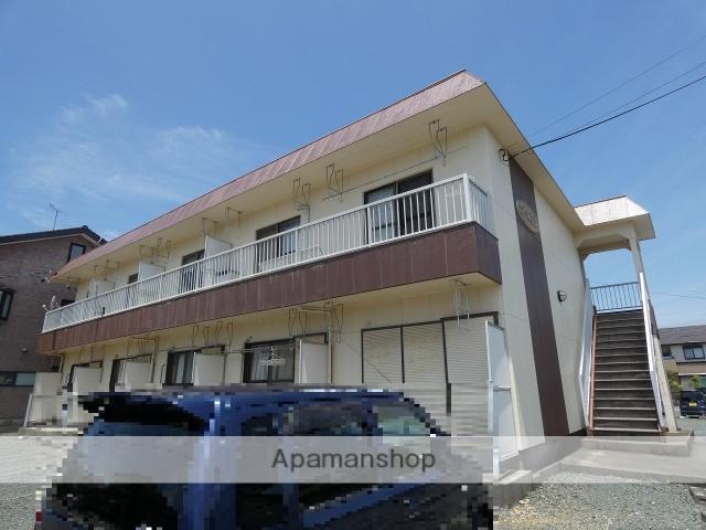 静岡県浜松市西区、浜松駅遠鉄バスバス40分坪井下車後徒歩3分の築30年 2階建の賃貸アパート