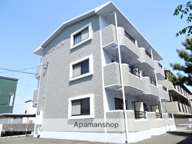 静岡県湖西市、新居町駅徒歩38分の築17年 3階建の賃貸マンション