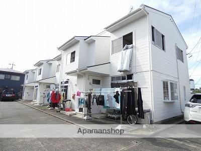 静岡県浜松市中区、浜松駅徒歩25分の築28年 2階建の賃貸テラスハウス
