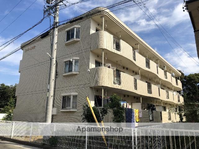 静岡県浜松市中区、浜松駅遠州鉄道バス22分和合住宅入口下車後徒歩6分の築10年 3階建の賃貸マンション