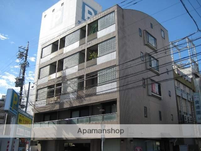 静岡県浜松市中区、浜松駅徒歩3分の築24年 6階建の賃貸マンション