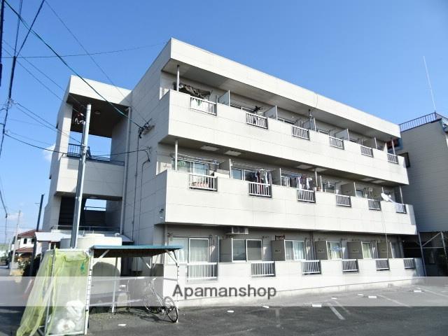 静岡県浜松市西区、浜松駅遠鉄バスバス25分西山下車後徒歩3分の築21年 3階建の賃貸マンション