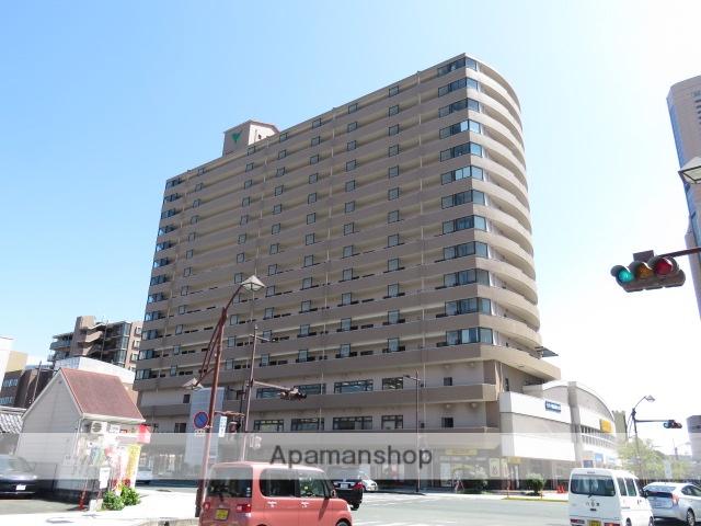 静岡県浜松市中区、浜松駅徒歩10分の築18年 15階建の賃貸マンション