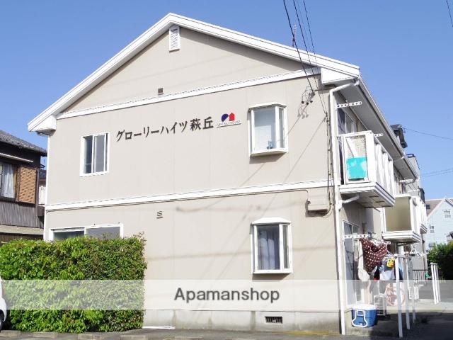 静岡県浜松市中区、浜松駅徒歩71分の築23年 2階建の賃貸アパート