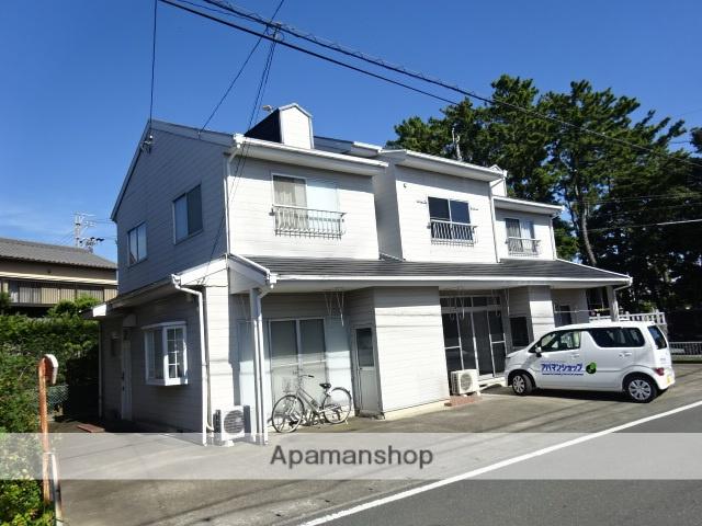 静岡県浜松市南区、天竜川駅徒歩45分の築28年 2階建の賃貸テラスハウス