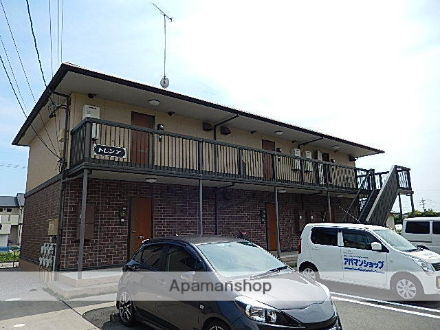 静岡県浜松市西区、浜松駅遠鉄バスバス38分新町西下車後徒歩5分の築10年 2階建の賃貸アパート