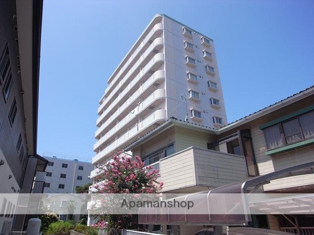 静岡県浜松市中区、浜松駅徒歩13分の築17年 10階建の賃貸マンション