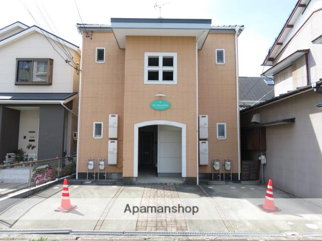 静岡県浜松市中区、浜松駅徒歩7分の築15年 2階建の賃貸アパート