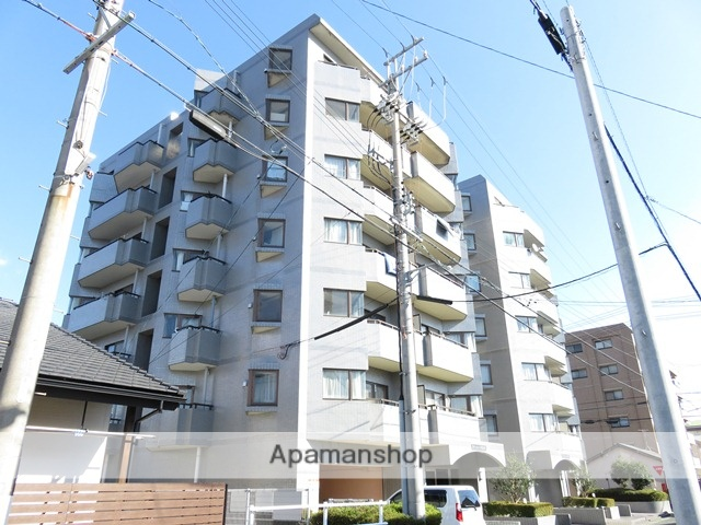 静岡県浜松市中区、浜松駅徒歩7分の築25年 7階建の賃貸マンション