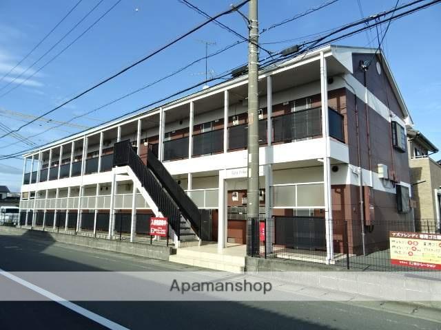 静岡県浜松市中区、浜松駅遠州鉄道バスバス10分森田南下車後徒歩1分の築16年 2階建の賃貸アパート