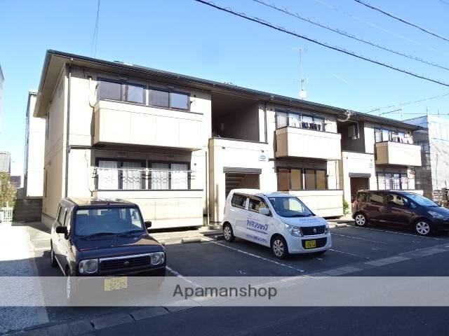 静岡県浜松市南区、浜松駅遠鉄バスバス15分安松中下車後徒歩4分の築16年 2階建の賃貸アパート