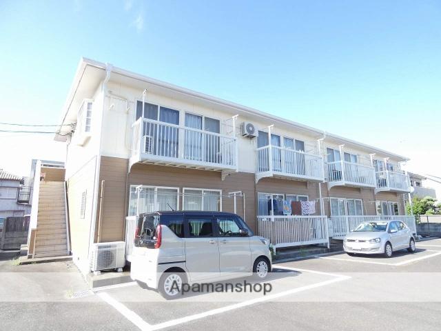 静岡県浜松市中区、浜松駅徒歩22分の築23年 2階建の賃貸アパート