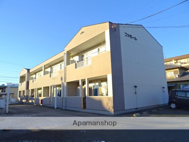 静岡県浜松市中区、浜松駅遠鉄バスバス30分瑞穂小学校下車後徒歩5分の築27年 2階建の賃貸アパート