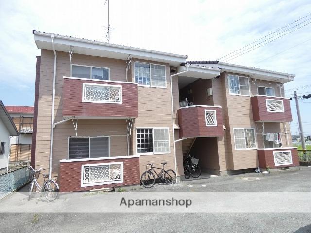 静岡県浜松市南区、浜松駅バス19分新橋町下車後徒歩2分の築25年 2階建の賃貸アパート