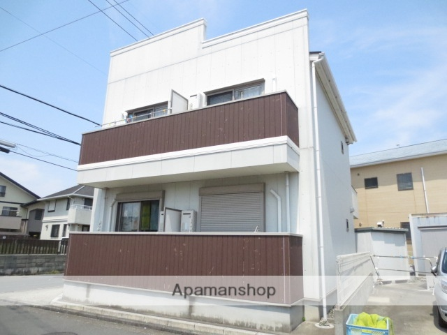 静岡県浜松市中区、浜松駅徒歩15分の築9年 2階建の賃貸アパート