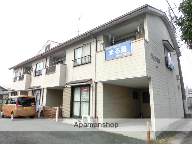 静岡県浜松市南区、天竜川駅徒歩32分の築23年 2階建の賃貸テラスハウス