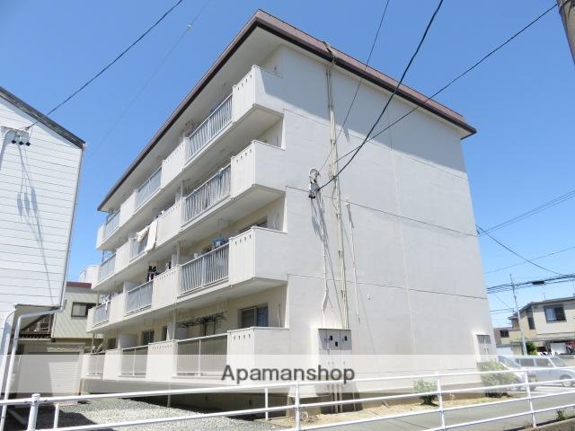 静岡県浜松市中区、浜松駅遠鉄バスバス12分領家北下車後徒歩1分の築34年 4階建の賃貸マンション