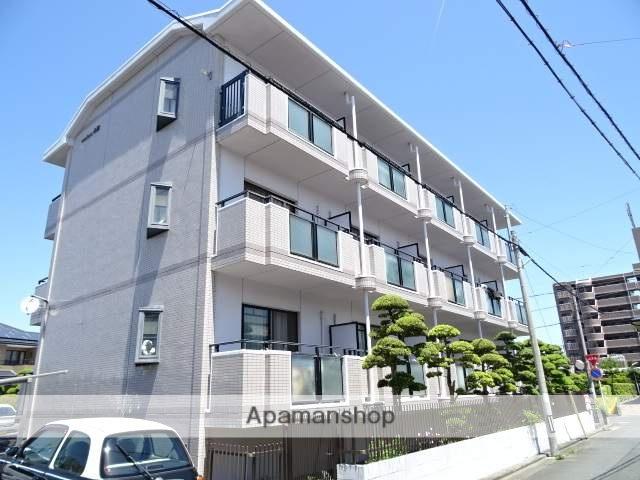 静岡県浜松市中区、浜松駅バス12分柳通り下車後徒歩4分の築21年 3階建の賃貸マンション