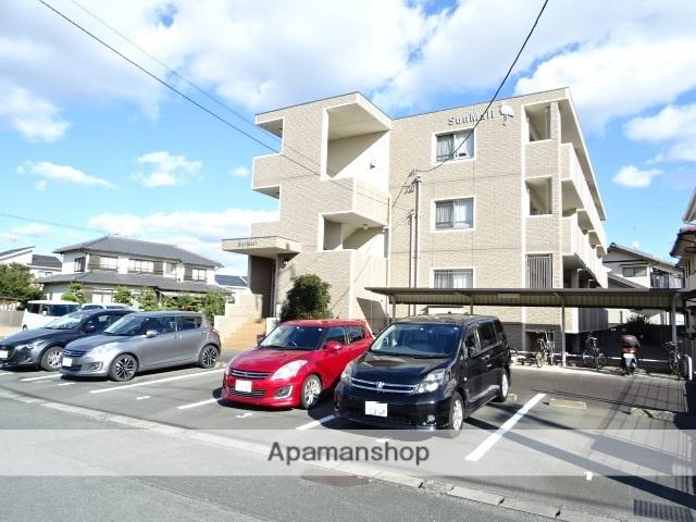 静岡県浜松市南区、浜松駅遠鉄バスバス22分西若林下車後徒歩10分の築7年 3階建の賃貸マンション