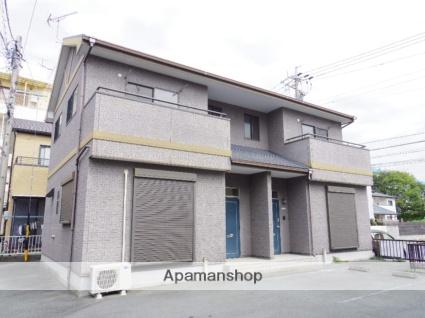 静岡県浜松市中区、浜松駅バス13分和地山下車後徒歩4分の築14年 2階建の賃貸テラスハウス