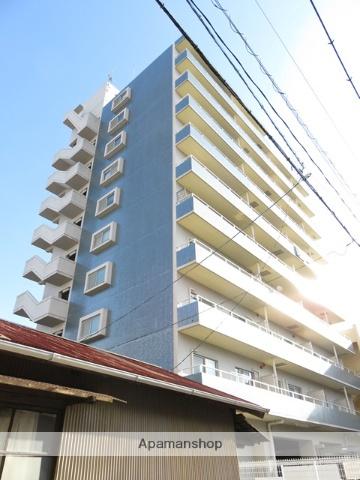 静岡県浜松市中区、浜松駅遠鉄バスバス11分元浜町下車後徒歩4分の築20年 10階建の賃貸マンション