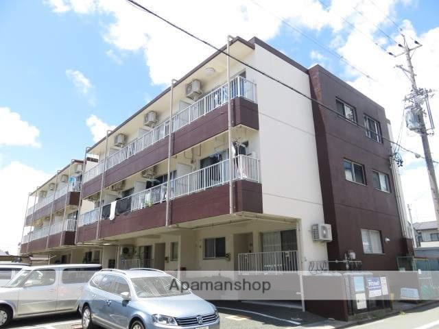 静岡県浜松市中区、浜松駅徒歩14分の築13年 3階建の賃貸マンション