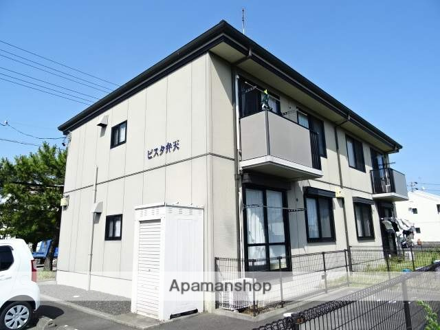 静岡県浜松市西区、浜松駅遠州鉄道バスバス40分新弁天下車後徒歩5分の築14年 2階建の賃貸アパート