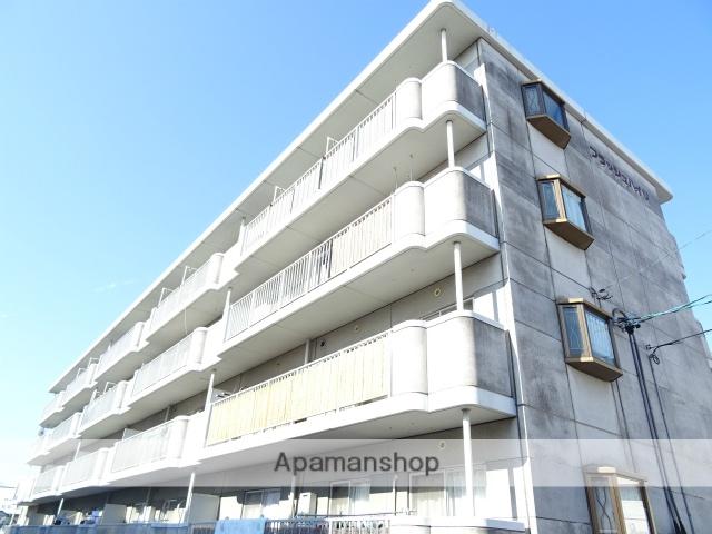 静岡県浜松市中区、浜松駅遠鉄バスバス30分追分南下車後徒歩4分の築22年 4階建の賃貸マンション