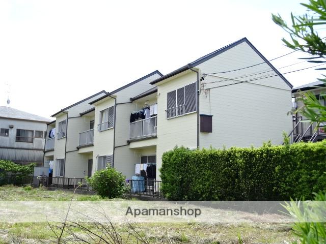 静岡県浜松市中区、浜松駅徒歩20分の築32年 2階建の賃貸アパート