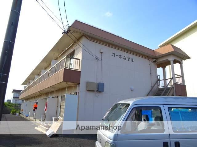 静岡県浜松市中区、浜松駅遠鉄バスバス34分葵西小学校入口下車後徒歩5分の築32年 2階建の賃貸アパート