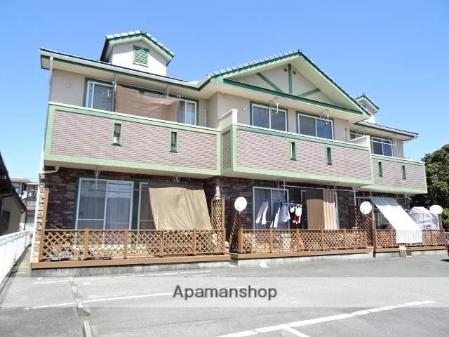 静岡県浜松市南区、浜松駅遠鉄バスバス16分芳川西下車後徒歩1分の築14年 2階建の賃貸アパート