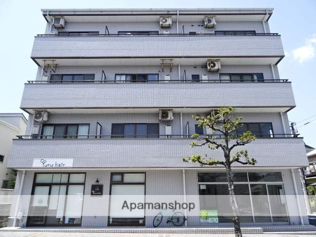 静岡県浜松市中区、浜松駅バス10分中部電力下車後徒歩3分の築22年 4階建の賃貸マンション
