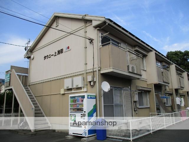 静岡県浜松市中区、浜松駅徒歩17分の築25年 2階建の賃貸アパート