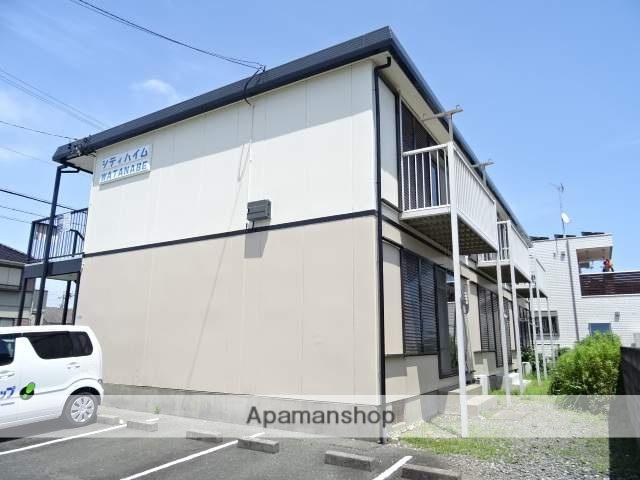 静岡県浜松市中区、浜松駅バス7分領家北下車後徒歩3分の築35年 2階建の賃貸アパート
