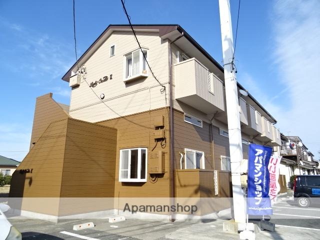 静岡県浜松市西区、浜松駅遠鉄バスバス25分入野下車後徒歩3分の築22年 2階建の賃貸アパート