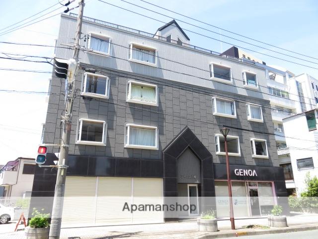 静岡県浜松市中区、浜松駅徒歩17分の築26年 4階建の賃貸アパート
