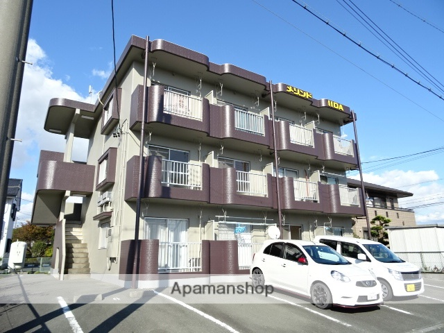 静岡県浜松市南区、天竜川駅徒歩23分の築26年 3階建の賃貸マンション