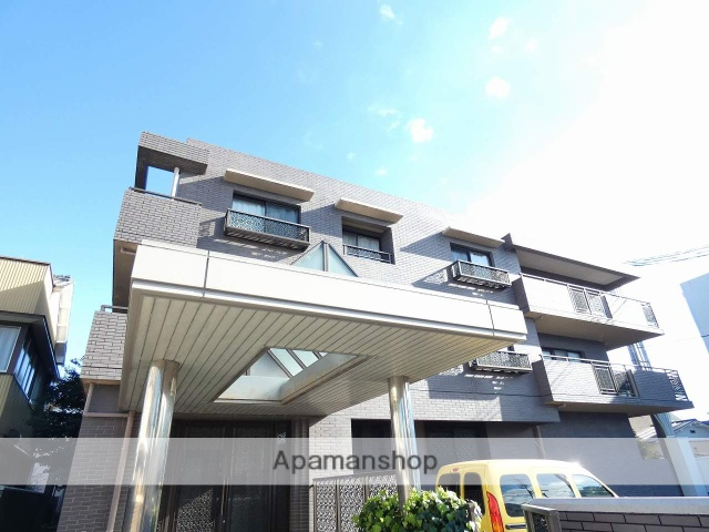 静岡県浜松市中区、浜松駅徒歩19分の築28年 3階建の賃貸マンション