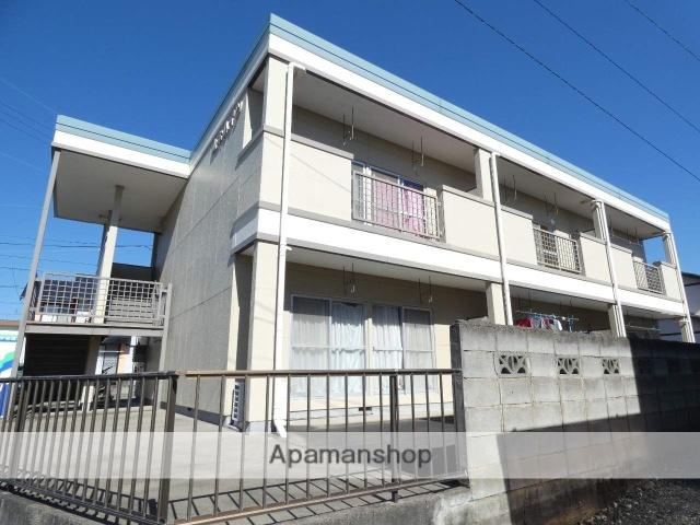 静岡県浜松市中区、浜松駅遠鉄バスバス25分和合住宅入口下車後徒歩10分の築28年 2階建の賃貸アパート