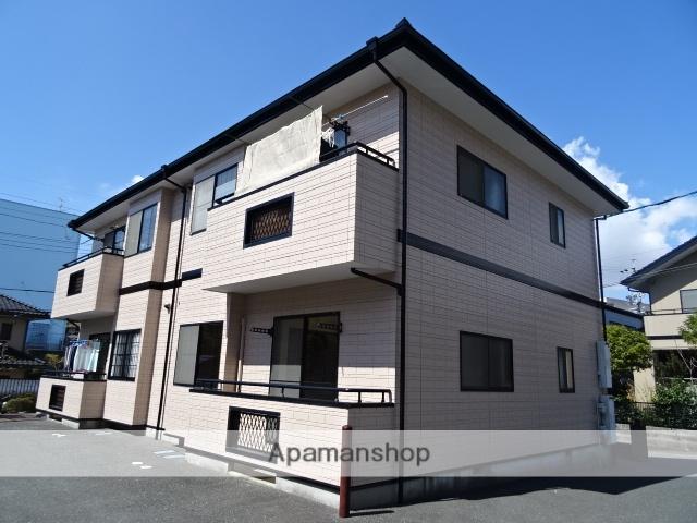 静岡県浜松市中区、浜松駅バス15分浜松病院下車後徒歩2分の築21年 2階建の賃貸アパート
