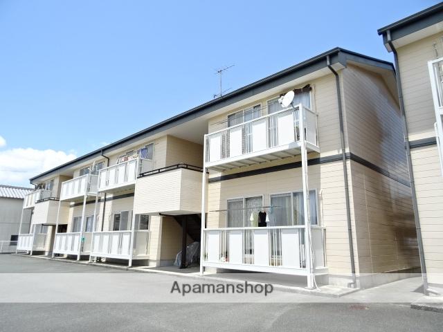 静岡県浜松市西区、浜松駅遠鉄バスバス45分村櫛下車後徒歩5分の築18年 2階建の賃貸アパート