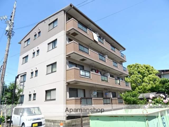 静岡県浜松市中区、浜松駅バス10分柳通り下車後徒歩3分の築21年 4階建の賃貸マンション