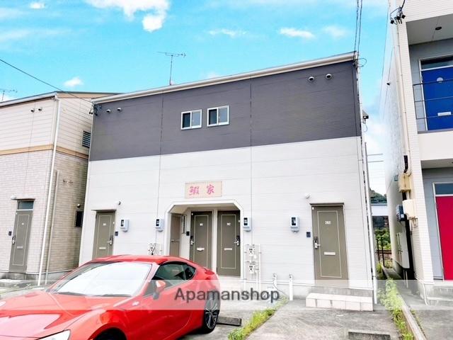 静岡県湖西市、新居町駅徒歩56分の築9年 2階建の賃貸アパート