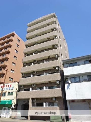 静岡県浜松市中区、浜松駅徒歩14分の築10年 9階建の賃貸マンション