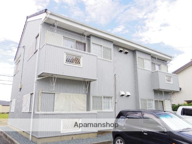 静岡県浜松市中区、浜松駅遠鉄バスバス24分和合住宅入口下車後徒歩7分の築25年 2階建の賃貸アパート