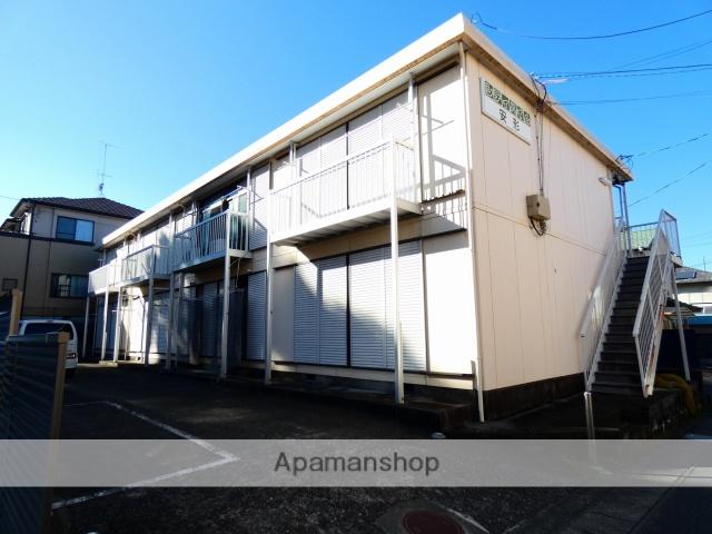 静岡県浜松市中区、浜松駅遠鉄バスバス16分西高入口下車後徒歩6分の築36年 2階建の賃貸アパート